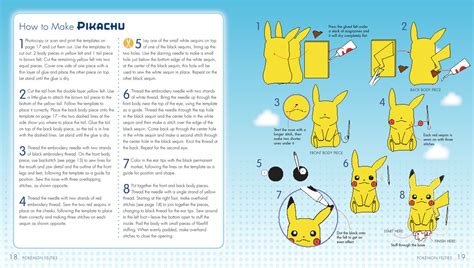 Pokemon Felties How To Make 16 Of Your Favorite Pokemon