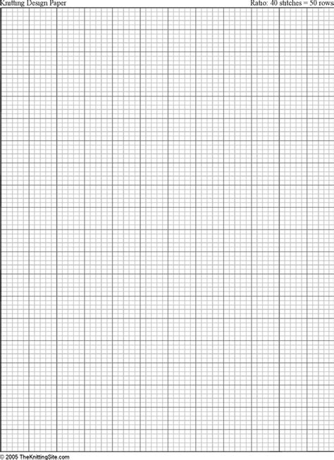 knitting graph paper template   speedy