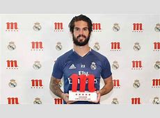 Isco voted Real Madrid fans' player of the season AScom