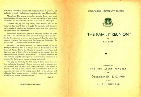 The Family Reunion  12101949  Melbourne University. Pro Forma Financial Statement Template. Consumerfinance Gov About Us Careers Students And Graduates. College Graduate Resume Samples. Best Sports Management Graduate Programs. Service Invoice Template Word. Weekly Classroom Newsletter Template. Banner Design Online. High School Graduation Quotes From Parents