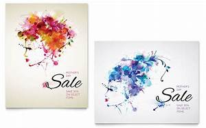 Mother's Day Sale Poster Template Design
