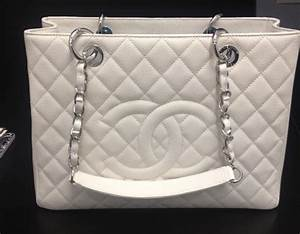 Chanel White Grand Shopping Tote Bag – Spotted Fashion