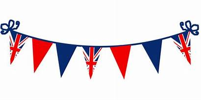 Bunting Queen Birthday Clipart Clip Jubilee Union