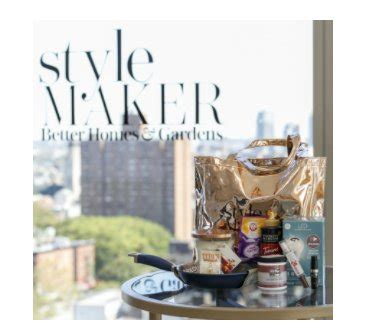 homes gardens stylemaker swag bag sweepstakes