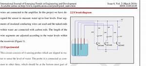 Circuit Digram Of Water Level Indicator