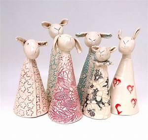 Lubilou Handmade ceramics ceramic sheep ceramic