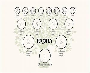12 generation family tree template templates data With 4 generation family tree template free