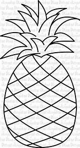 Pineapple Outline Cliparts Clip Clipartandscrap Pixels Downloads 1024 Views Favorite sketch template
