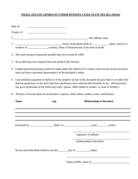 florida affidavit form free small estate affidavit orange county florida archives