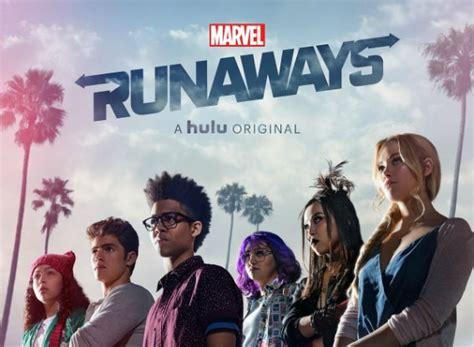 marvels runaways tv show air  track episodes
