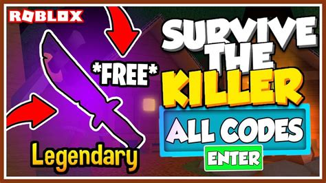 The killer kills as many players as they how to redeem survive the killer codes. ALL CODE 🔪 Survive the Killer! - YouTube