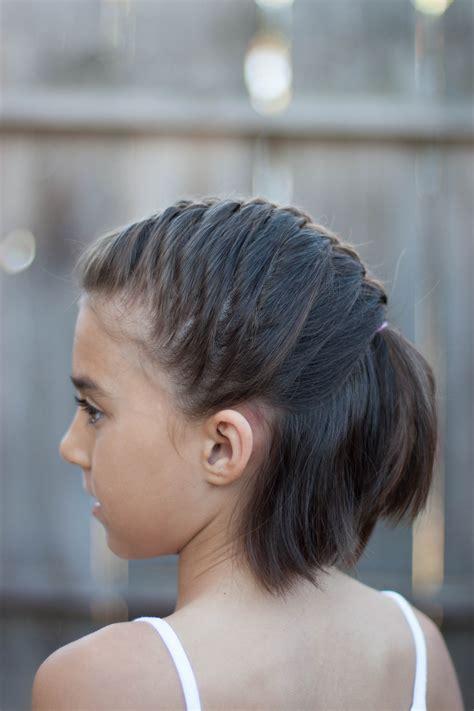 ideas  childrens wedding hairstyles  short hair