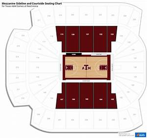 Reed Arena Seating Chart Reed Arena Texas A M Seating Guide Rateyourseats Com