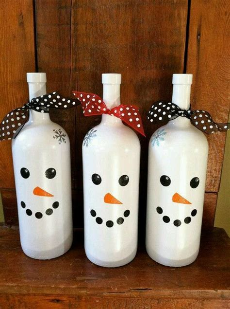 amazing wine bottle christmas crafts