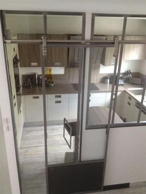 verrieres cuisine verrière entre couloir et cuisine verrières d 39 intérieur