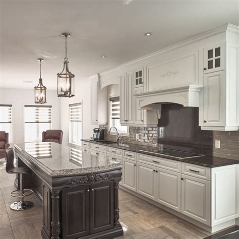 comptoir bois cuisine cuisine blanche comptoir en bois wraste com