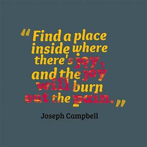 Picture » Joseph Campbell quote about inspirational.