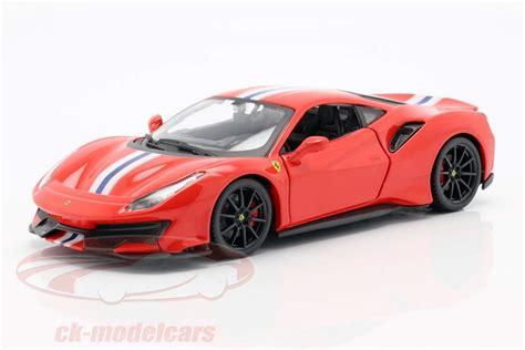 Welly 1:24 porsche 959 red diecast model sports racing car new in box. Bburago 1:24 Ferrari 488 Pista year 2018 red 18-26026 model car 18-26026 4893993260263