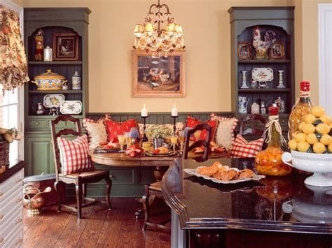 Primitive Kitchen Countertop Ideas by French Country Kitchens