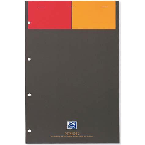 bloc note sur bureau oxford notepad bloc bureau 160 pages 21 x 32 cm petits