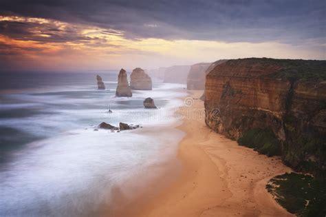 The Great Ocean Road Victoria Australia Stock Photo