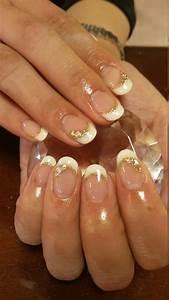Wedding Nail Designs - White French Nails #2065137 - Weddbook