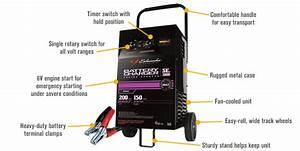 Schumacher Wheeled Starter  Charger 80  60  44  30 Amp
