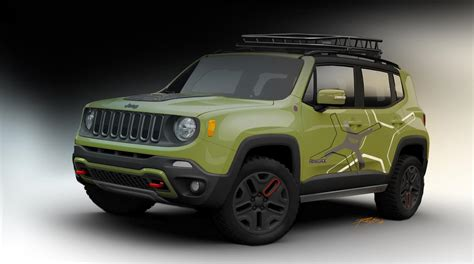 trailhawk jeep green 2015 jeep renegade receives mopar goodies for 2015 detroit