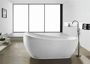 Freistehende Badewanne Mit Integrierter Armatur : freistehende badewanne luxury ebay ~ Indierocktalk.com Haus und Dekorationen