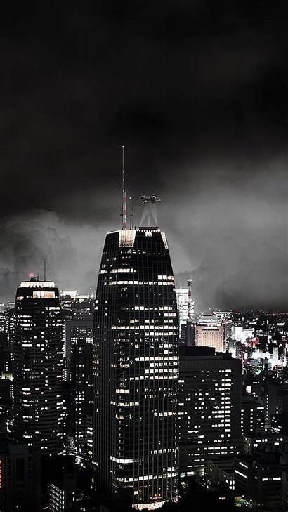 Dark Iphone Night Gotham Gothic Android Portrait