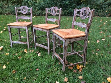 Basement Security Windows by Distressed Paris Grey Bar Stools Chalk Paint How To