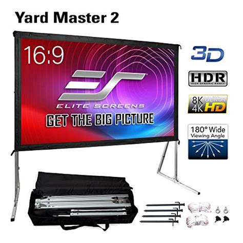 Top 10 Best Portable Projector Screens (2020) Reviews