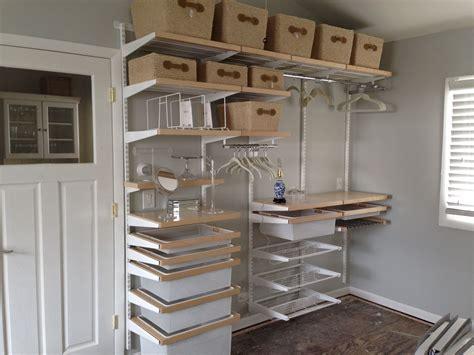 elegant interior home design elfa closet organizing