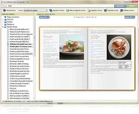 faire livre de cuisine organizez votre collection créez des livres importez des