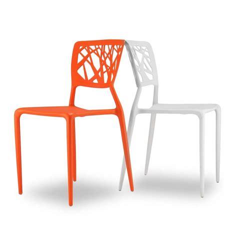 chaises orange chaise orange design