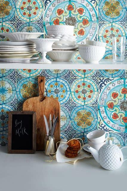shabby chic kitchen wall tiles beautiful backdrops kitchen designs shabby chic wallpaper ideas houseandgarden co uk