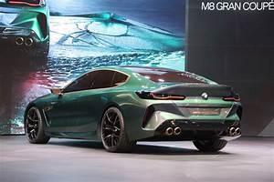 Bmw M8 2018 : bmw m8 gran coupe concept looks like a proper m flagship motor trend ~ Mglfilm.com Idées de Décoration