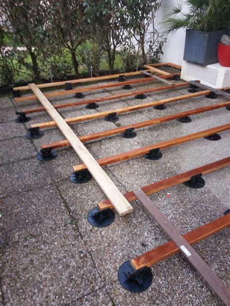 pose terrasse bois sur plots la baule gu 233 rande nazaire terrasses parquets r 233 novation