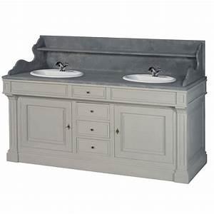 meuble double lavabo With meuble lavabo double