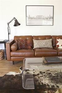 le canape club quel type de canape choisir pour le salon With tapis moderne avec canapé club cuir vieilli marron