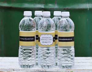 custom water bottle labels for business weddings With custom bottles and labels