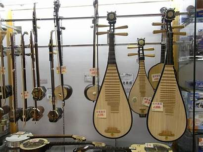 Instruments String Instrument Stringed Asian Chinese National