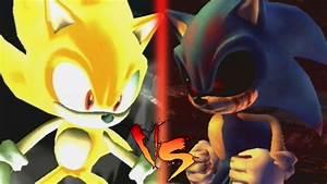 Super Sonic VS SonicEXE YouTube