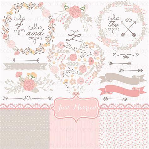 shabby chic clipart wedding shabby chic illustrations on creative market