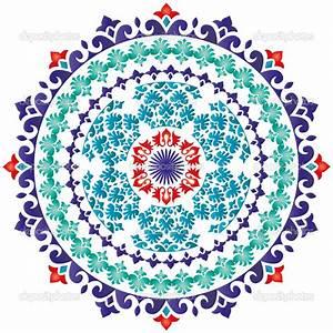 Oriental pattern and ornaments (turkish design) — Stock ...