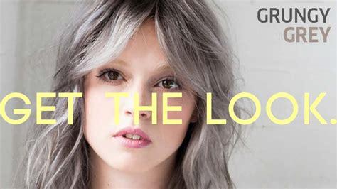 How To Grungy Grey With Wella Koleston