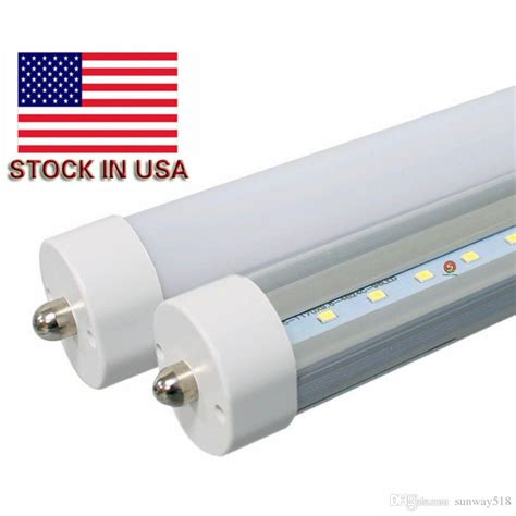 stock in usa led 8 foot fa8 45w t8 light power