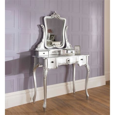 la rochelle antique french silver dressing table