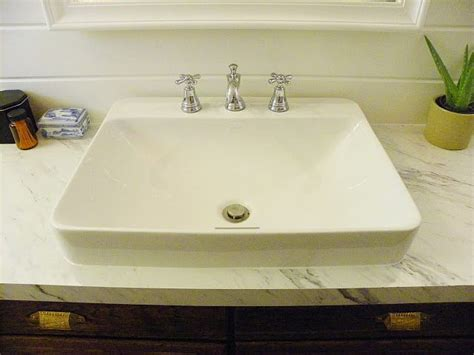love  sink kohler     vox rectangle vessel
