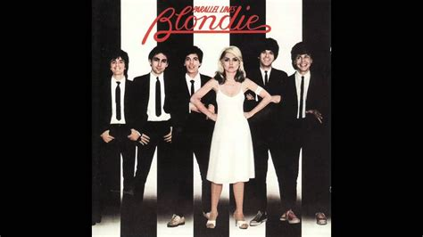 blondie heart  glass parallel lines youtube